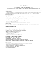 Entry Level Receptionist Resumes - Fast.lunchrock.co