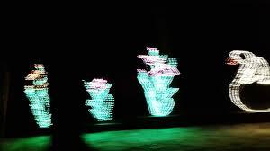 Swan Lake Sumter Sc Christmas Lights Sumter Christmas Of Lights Swan Lake Ride Through Youtube