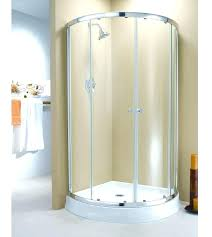 curved glass shower doors arc 4 sliding enclosure door replacement replace with curtain