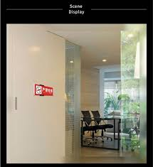 reap 3205 ruite 149 297mm aluminium office badge indoor wall mount sticker sign holder display info poster door sign