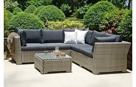 corner rattan set garden furniture