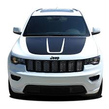 2019 Jeep Grand Cherokee Color Chart 2011 2019 Jeep Grand Cherokee Trailhawk Hood Decal Trail Vinyl Graphic Stripes