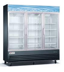 home glass door merchandiser refrigerators vortex 3 glass door merchandiser refrigerator v 3gdr b