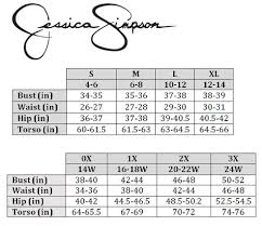 Systematic Empyre Clothing Size Chart Olian Size Chart Miss