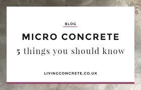 micro concrete featured image
