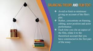 how to write film studies essays helpful tips and principles balancing theory and film text 7