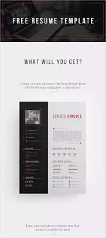 50 New And Trendy Free Cv Resume Design Templates For 2019 50 Graphics