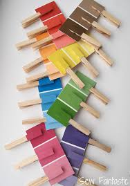 Sew Fantastic Paint Chip Matching Game