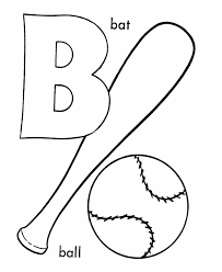 Letter B Coloring Page Many Interesting Cliparts