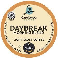 caribou coffee daybreak morning blend keurig k cup