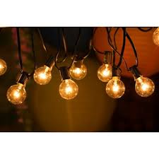 diy garden string lights. 25ft g40 globe string lights with bulbs, ul listed for indoor \u0026 outdoor commercial use diy garden