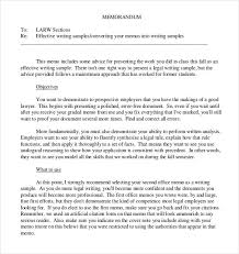 Legal Memo Format Example Cover Letter Format And Bussines Letter