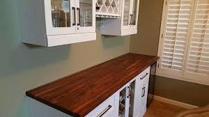countertop williamsburg butcher block co 1 1 2 x 25 x 8 lft builder walnut countertop