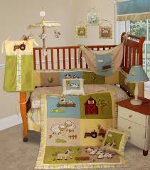 baby boutique on the farm 15 pcs boy crib nursery bedding set
