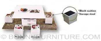 expandable furniture. expandable center table with 4 stools furniture r