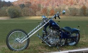 1975 xs650 old school rigid frame xs650 chopper