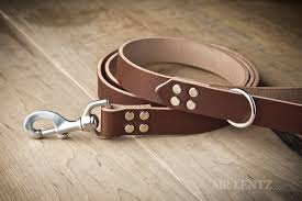 leather dog leash for large dogs