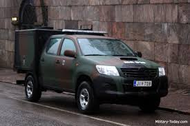 Toyota Hilux Light Utility Vehicle | Military-Today.com