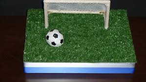 Mini Soccer Ball Decorations Simple Realistic Soccer Goals For Your DIY Sports Centerpieces Party
