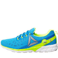 reebok mens running shoes. reebok mens zpump fusion 2.5 neutral running shoes instinct blue/collegiate navy/solar yellow