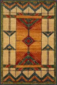craftsman style wool rugs
