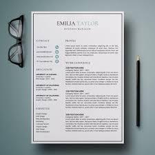 Resume Template | Cv Template | Resume | Cv Design | Creative Resume ...
