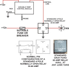 relay wiring diagram 4 pin carlplant how to wire a relay for lights at Wiring Diagram For Relay