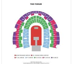 La Forum Seating Chart Concert 190219 Seating And Prices For Blackpink Concert At The Forum