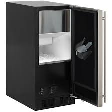 undercounter ice makers by marvel premium refrigeration ml15c 15 marvel clear ice machine arctic illuminice open