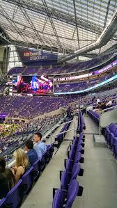 Us Bank Arena Monster Jam Seating Chart Minnesota Vikings Club Seating At U S Bank Stadium