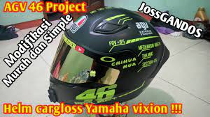 We did not find results for: Modifikasi Helm Yamaha Vixion Jadi Ala Agv 46 Project Low Budget Banget Youtube