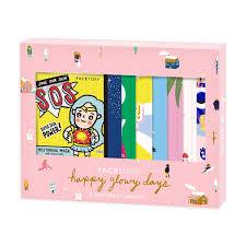 FaceTory Happy Glowy Days Holiday <b>Gift Set</b> - 8 <b>Original</b> Mask Edition