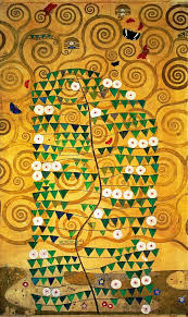 tree painting tree of life stoclet frieze by gustav klimt
