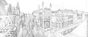 architecture sketch wallpaper. Gothic Architecture By ArtByGiuseppe Sketch Wallpaper
