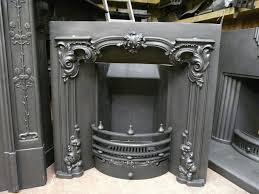 156i 1230 rococo victorian cast iron insert