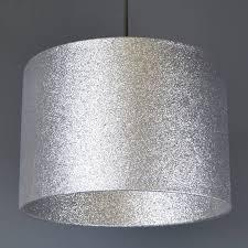 silver glitter lampshade glitter or metallic lining