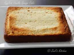 Eggless Vanilla Sponge Cake Zeels Kitchen