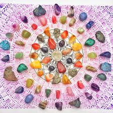 Crystal Grid Patterns Cool Decoration