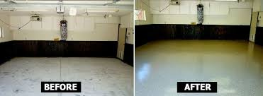 garage floor paint before and after. Wonderful After Before And After Pictures Of Projects Completed With EpoxyPRO Floor Coatings Inside Garage Paint And After R