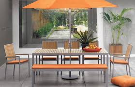 crate barrel outdoor furniture. punch of orange outdoor dining collection at crate u0026 barrel furniture i