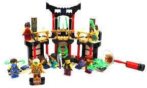 LEGO Ninjago 71735 Turnier der Elemente im Review