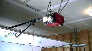 zero clearance garage door opener install garage door opener low ceiling headroom installation chamberlain low clearance garage door opener