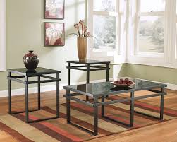 t180 laney 3pc glass coffee table set