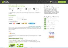 spotify ecard kaufen