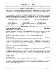 Special Agent Sample Resume Fbi Special Agent Resume Sample Dadajius 4