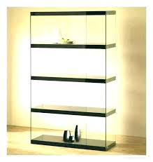 oak wall display cabinet larger image small cabinets glass door s with disp