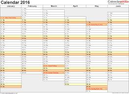 week time schedule template excel calendar 2016 uk 16 printable templates xlsx free