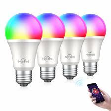 TanTan <b>NiteBird</b> Smart WiFi <b>Light Bulb</b> 4-Pack for $20 - TT-<b>WB4</b>-4