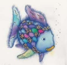 Image result for rainbow fish color page images