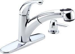 faucets washerless faucet repair delta single handle kitchen faucet leaking at base single handle